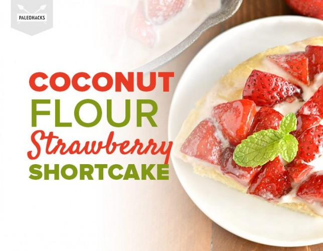 This Strawberry Shortcake Recipe With Coconut Cream Will Blow Your Socks Off