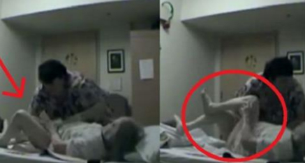 HE PUT A HIDDEN DIGITAL CAMERA IN HIS MOTHERS ROOM. WHAT
